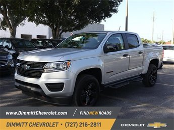 2019 Silver Ice Metallic Chevy Colorado 2WD LT RWD Truck Automatic V6 Engine 4 Door