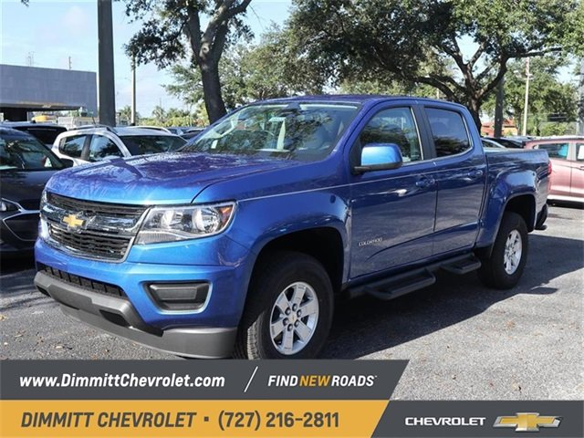 2019 Chevy Colorado 4WD Work Truck V6 Engine Automatic Truck 4 Door 4X4