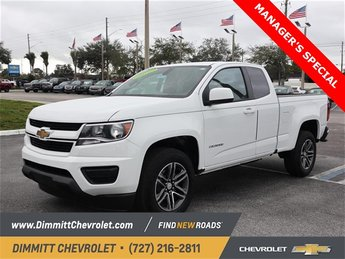 2019 Chevy Colorado 2WD Work Truck Truck Manual 2 Door RWD