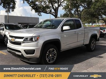 2019 Chevy Colorado 2WD Work Truck RWD 2.5L I4 DI DOHC VVT Engine Truck