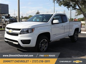 2019 Summit White Chevy Colorado 2WD Work Truck Truck RWD Manual 2 Door 2.5L I4 DI DOHC VVT Engine