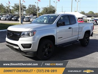2019 Silver Ice Metallic Chevy Colorado 2WD LT Truck Automatic 2 Door 2.5L I4 DI DOHC VVT Engine RWD