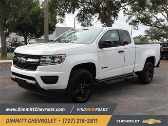 2019 Summit White Chevy Colorado 2WD LT Automatic 2 Door RWD 2.5L I4 DI DOHC VVT Engine