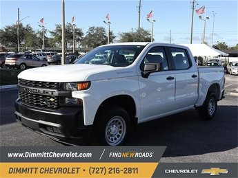 2019 Chevy Silverado 1500 Work Truck Automatic 4 Door Truck EcoTec3 5.3L V8 Engine