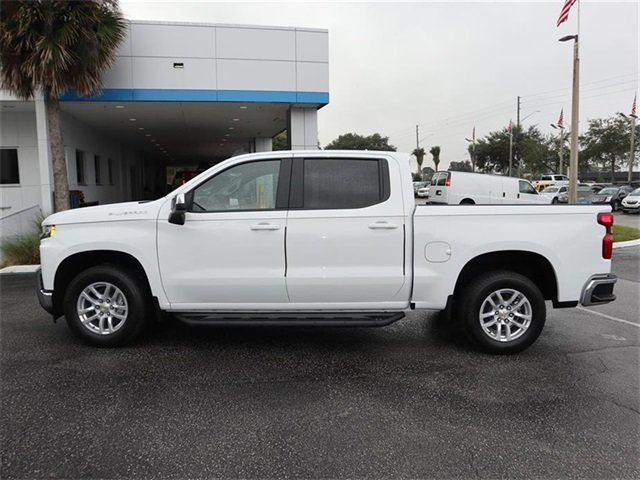 2019 Summit White Chevy Silverado 1500 LT Automatic 4 Door RWD Truck EcoTec3 5.3L V8 Engine