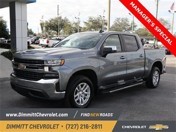 2019 Satin Steel Metallic Chevy Silverado 1500 LT Automatic 4 Door Truck