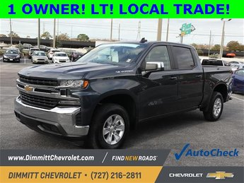 2019 Chevy Silverado 1500 LT RWD 4 Door EcoTec3 5.3L V8 Engine