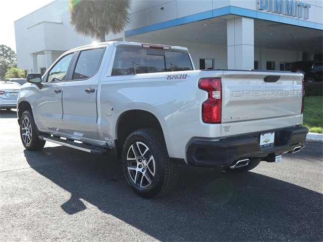2019 Silver Ice Metallic Chevy Silverado 1500 LT Trail Boss EcoTec3 5.3L V8 Engine 4X4 Automatic Truck