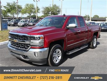 2018 Cajun Red Tintcoat Chevy Silverado 1500 LTZ Automatic RWD 4 Door