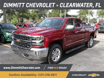 2018 Cajun Red Tintcoat Chevrolet Silverado 1500 LTZ Automatic EcoTec3 5.3L V8 Flex Fuel Engine 4 Door RWD