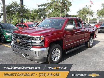 2018 Chevy Silverado 1500 LTZ 4 Door RWD EcoTec3 5.3L V8 Flex Fuel Engine Automatic Truck