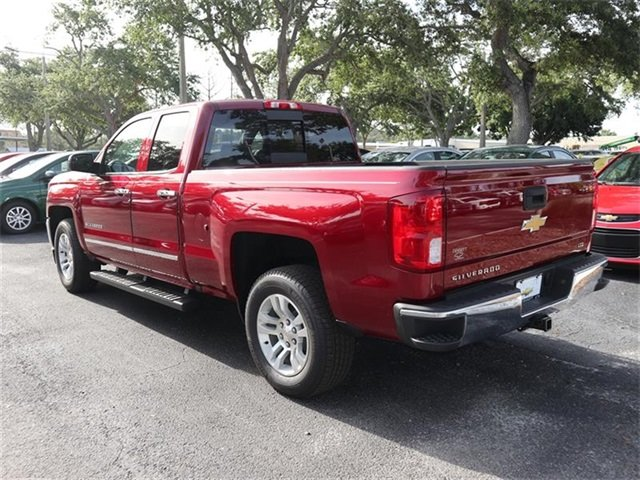 2018 Chevy Silverado 1500 LTZ Automatic 4 Door RWD EcoTec3 5.3L V8 Flex Fuel Engine