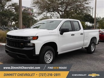 2019 Chevy Silverado 1500 Work Truck RWD Truck Automatic 4 Door