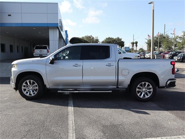 2019 Silver Ice Metallic Chevy Silverado 1500 LTZ Automatic RWD Truck EcoTec3 5.3L V8 Engine 4 Door