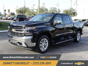 2019 Black Chevy Silverado 1500 LTZ Automatic RWD 4 Door Truck