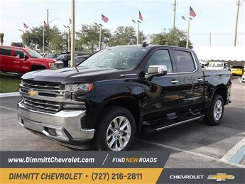 2019 Chevy Silverado 1500 LTZ 4 Door EcoTec3 5.3L V8 Engine Truck