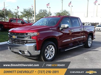 2019 Cajun Red Tintcoat Chevy Silverado 1500 LTZ EcoTec3 5.3L V8 Engine RWD 4 Door Automatic