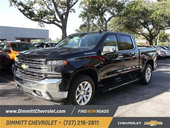2019 Chevy Silverado 1500 LTZ EcoTec3 5.3L V8 Engine 4 Door Truck Automatic