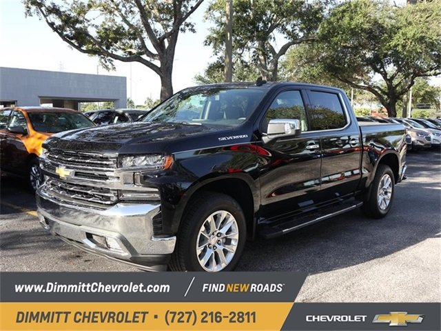2019 Black Chevy Silverado 1500 LTZ Truck EcoTec3 5.3L V8 Engine RWD 4 Door Automatic
