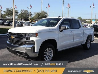 2019 Summit White Chevy Silverado 1500 LT 4 Door EcoTec3 5.3L V8 Engine Truck Automatic