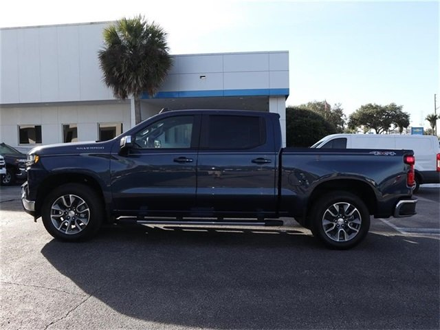 2019 Northsky Blue Metallic Chevy Silverado 1500 LT EcoTec3 5.3L V8 Engine 4 Door Truck