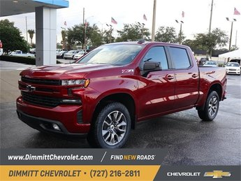 2019 Cajun Red Tintcoat Chevy Silverado 1500 RST 4 Door Automatic 4X4 Truck EcoTec3 5.3L V8 Engine