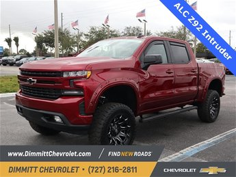 2019 Cajun Red Tintcoat Chevy Silverado 1500 RST Truck EcoTec3 5.3L V8 Engine Automatic 4 Door