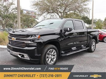 2019 Chevy Silverado 1500 High Country 4 Door Automatic Truck 4X4 EcoTec3 6.2L V8 Engine