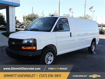 2019 Summit White Chevy Express 2500 Work Van Van 3 Door Automatic RWD 6.0L 8-Cylinder Flex Fuel Engine