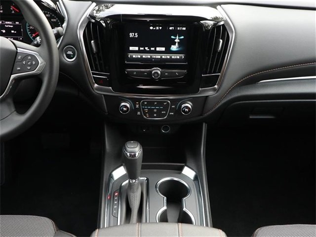 2019 Satin Steel Metallic Chevy Traverse LS 3.6L V6 SIDI VVT Engine Automatic SUV