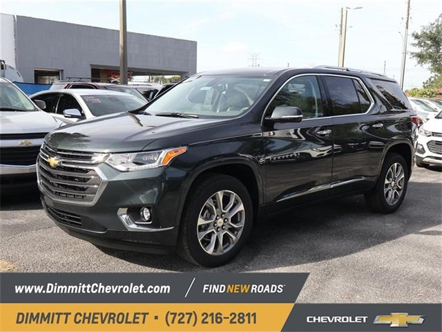 2019 Chevy Traverse Premier FWD 3.6L V6 SIDI VVT Engine SUV Automatic 4 Door