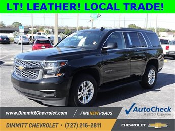 2017 Black Chevy Tahoe LT 4 Door RWD Automatic V8 Engine SUV