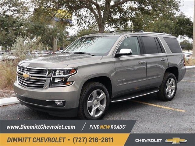 2019 Pepperdust Metallic Chevy Tahoe Premier RWD Automatic 4 Door EcoTec3 5.3L V8 Engine