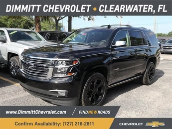 2018 Black Chevrolet Tahoe Premier Automatic RWD EcoTec3 5.3L V8 Flex Fuel Engine 4 Door SUV