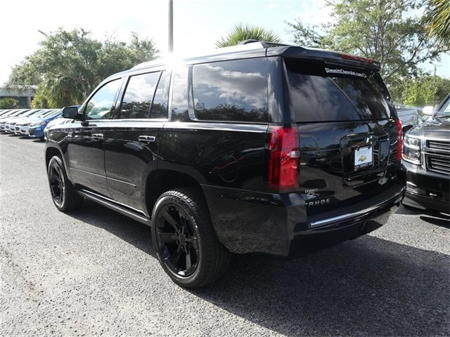 2018 Black Chevy Tahoe Premier Automatic 4 Door SUV RWD EcoTec3 5.3L V8 Flex Fuel Engine