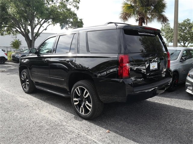 2019 Black Chevy Tahoe Premier 4 Door RWD Automatic EcoTec3 6.2L V8 Engine