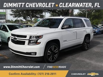 2019 Summit White Chevrolet Tahoe Premier Automatic EcoTec3 6.2L V8 Engine SUV 4 Door