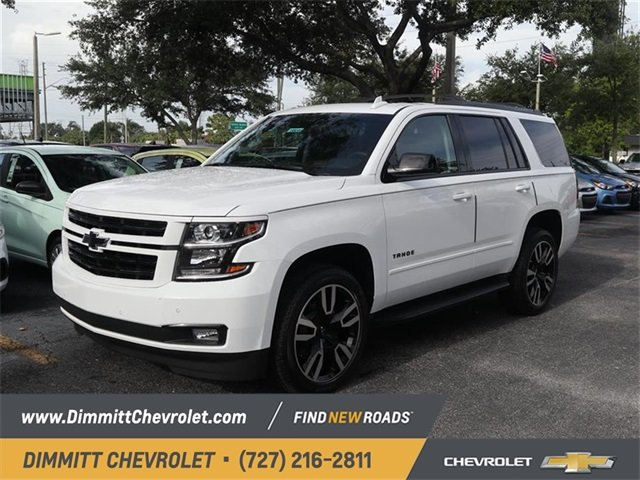 2019 Summit White Chevy Tahoe Premier RWD SUV Automatic 4 Door EcoTec3 6.2L V8 Engine