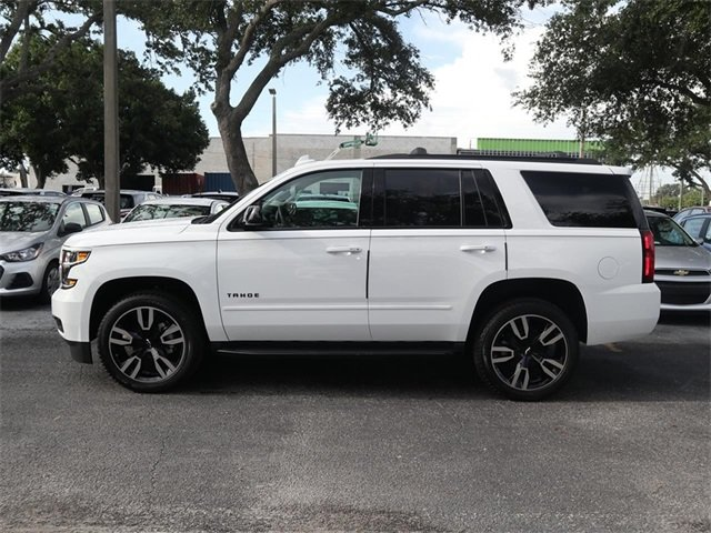 2019 Summit White Chevy Tahoe Premier SUV RWD 4 Door EcoTec3 6.2L V8 Engine Automatic