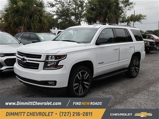 2019 Summit White Chevy Tahoe Premier Automatic EcoTec3 6.2L V8 Engine SUV