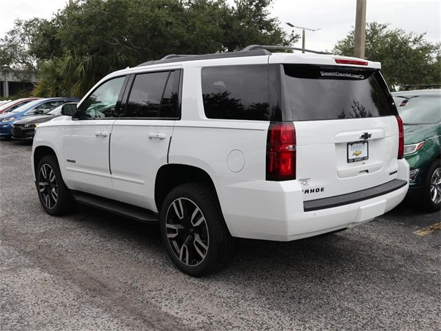 2019 Summit White Chevy Tahoe Premier 4 Door SUV EcoTec3 6.2L V8 Engine Automatic