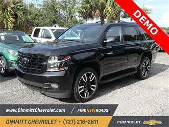 2019 Black Chevy Tahoe Premier 4 Door RWD Automatic
