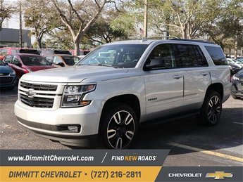 2019 Silver Ice Metallic Chevy Tahoe Premier Automatic 4 Door SUV EcoTec3 6.2L V8 Engine