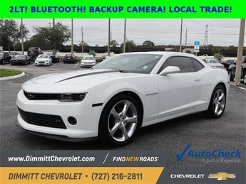 2014 Chevy Camaro LT Automatic 3.6L V6 DGI DOHC VVT Engine Coupe RWD 2 Door