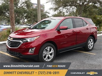 2019 Red Tintcoat Chevy Equinox LT Automatic 4 Door 1.5L DOHC Engine SUV