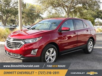 2019 Red Tintcoat Chevy Equinox LT 4 Door FWD Automatic SUV 1.5L DOHC Engine