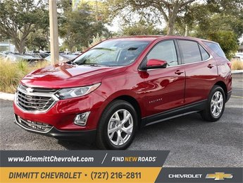 2019 Red Tintcoat Chevy Equinox LT 1.5L DOHC Engine Automatic 4 Door SUV