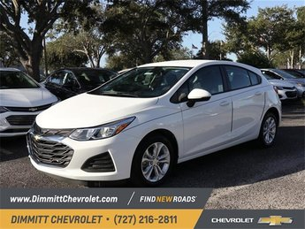 2019 Summit White Chevy Cruze LS Automatic FWD 4 Door