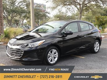 2019 Black Chevy Cruze LS FWD Hatchback Automatic 1.4L 4-Cylinder Turbo DOHC CVVT Engine