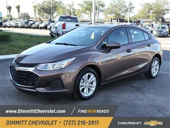 2019 Oakwood Metallic Chevy Cruze LS Hatchback 4 Door 1.4L 4-Cylinder Turbo DOHC CVVT Engine Automatic FWD